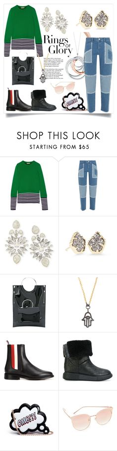 """winter fashion"" by kristeen9 on Polyvore featuring Tiffany & Co., Michael Kors, House of Holland, Kendra Scott, Toga, Ela Rae, Thom Browne, Moncler, Sophia Webster and Vedi Vero"