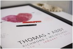 Gorgeous alternative 'Guest book' for Tom and Abby's wedding  Blog | Melbourne Wedding Photographer