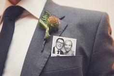 fun groom photo
