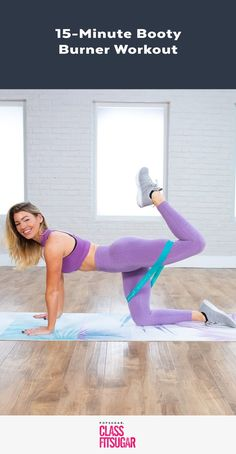Lift and tone your booty with this workout from Anna Victoria, creator of the Body Love app. You can do this workout with no equipment, but for an Best Workout Plan, Workout Plan For Women, At Home Workout Plan, Butt Workout, Dumbbell Workout, Workout Plans, Fun Workouts, At Home Workouts, Circuit Workouts
