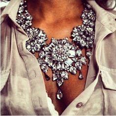 love this statement jewelry