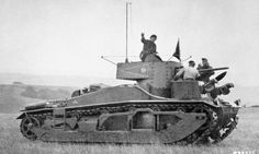British Army (interwar period 1919-1939) Vickers Mk III Command Tank