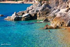 Cala d'en Carlos, en Tossa de Mar, Girona, Costa Brava