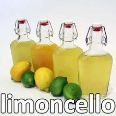 Make your own Limoncello