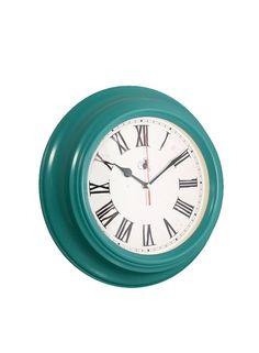 A Loja do Gato Preto | Relógio Retro Turquesa #alojadogatopreto