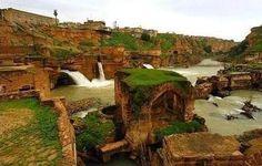 Shushtar Waterfalls , Iran , Khozestan , Shushtar