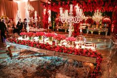 Blog OMG I'm Engaged - Decoração de casamento em cor de rosa. Pink wedding decoration.