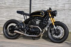 Yamaha XV750 cafe racer by Street Garage Poland #1
