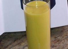 Ingredientes: Mango, Leche de coco, Azúcar opcional, Agua