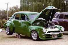 ◆ Visit MACHINE Shop Café... ◆ ~ Aussie Custom Cars & Bikes ~ (1954 FJ Holden 4-door Sedan)