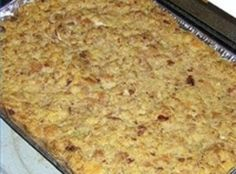 Southern Cornbread Dressing I make the best! Soul Food Cornbread Dressing, Soul Food Cornbread Recipe, Southern Cornbread Dressing, Southern Dressing Recipe, Biscuit Recipe, Chicken Dressing, Squash Dressing, Thanksgiving Dressing, Mother Recipe