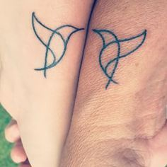 ... hummingbirds. | 19 Mother And Daughter Tattoos That Are Goals AF