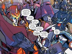 """""""So rude! Cyclonus did you hear that"""" """"No,was it about your face?"""""""