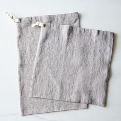 Linen Bread Bags (Se