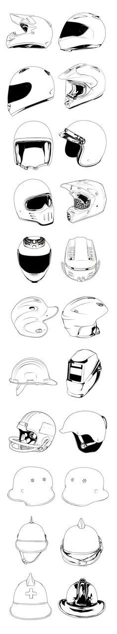 Helmets from 8negro website