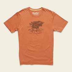 Howler Burro T-Shirt » HOWLER BROTHERS Screen Printing, Shirt Designs, Tees, Model, Cotton, Mens Tops, T Shirt, How To Wear, Style
