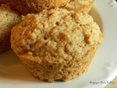 Happy in Dole Valley: Muffin Monday - Applesauce Spice Muffins