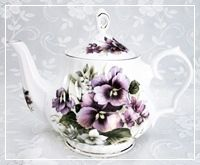 English Bone China Teapots