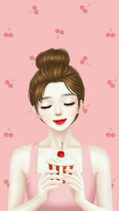 Image in Lovely Girl💋 collection by ChiangWaiFun Beautiful Girl Drawing, Cute Girl Drawing, Cartoon Girl Drawing, Beautiful Fantasy Art, Cute Drawings, Beautiful Drawings, Beautiful Images, Cartoon Girl Images, Cute Cartoon Girl
