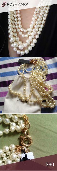 Selling this J. Crew pearl necklace on Poshmark! My username is: anajo. #shopmycloset #poshmark #fashion #shopping #style #forsale #J. Crew #Jewelry