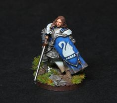 https://flic.kr/p/zvELJG | Lothíriel of Dol Amroth ft1 | Converted Dol Amroth Captain from GWs LOTR