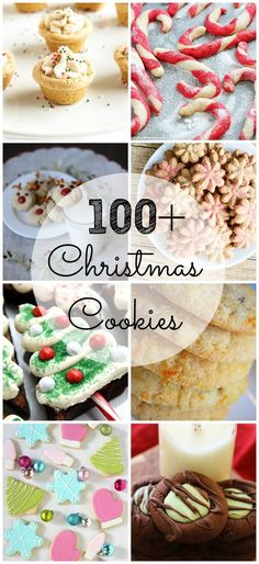 100+ ideas for delicious Christmas cookies! There is something for everyone in this list!Are you doing a cookie swap for the holidays? These Desserts recipe will have you adding them to your cookbook. Easy recipes for the busy mom.