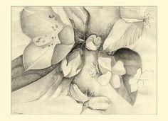 Items similar to Flowering Dogwood Pencil Study Limited Print on Etsy Pencil, Study, Art Prints, Flowers, Painting, Studio, Painting Art, Paintings, Paint