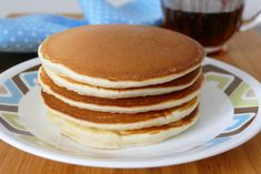 Easy Homemade From Scratch Pancakes Recipe Brunch Recipes, Breakfast Recipes, Brunch Foods, Best Pancake Recipe, Pancakes From Scratch, Homemade Pancakes, 30 Minute Meals, Easy Meals, Baking