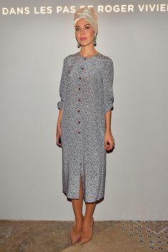 Front Row semanas de la moda Paris primavera verano 2014 - Ulyana Sergeenko