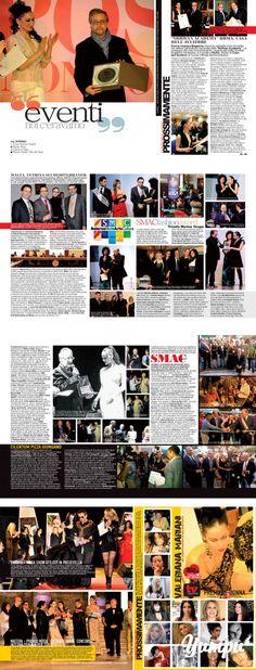 """DONNA IMPRESA MAGAZINE: EVENTI 2013/2014 http://www.donnaimpresa.com - Magazine with 4 pages: NOI C'ERAVAMO .... DONNA IMPRESA MAGAZINE/EVENTI:Cover """"Smac Fashion """" Non solo sposi"""" con Pasquale Salsano ed il Premio Internazionale Donna Impresa http://www.donnaimpresa.com"""