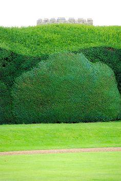 Layers of Green at Rousham Park by antonychammond, via Flickr
