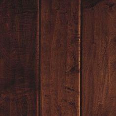 "Mohawk Stately Manor 5"" Engineered Maple Hardwood Flooring in Dark Auburn"