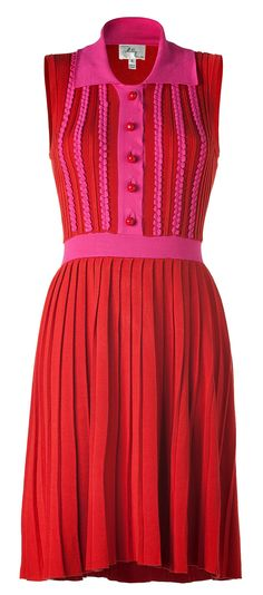 Knit Polo Dress by Milly