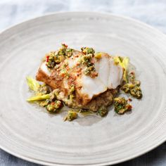 Whenever you cook monkfish, you should treat it like a piece of meat and allow it to rest and relax before cutting and serving, as this helps retain its moisture. Taken from Proper Pub Food