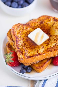 Made with seven basic ingredients, this Brioche French Toast tastes decadent but comes together quickly. Plus, you can make extra to freeze for later! Now, I don't want to brag or anything, but I think I've created the BEST brioche french toast recipe. Yes, it's a super simple french toast recipe that requires just seven ingredients. But this french toast is spot on! Not at all dry, slightly sweetened, and the brioche bread makes for an incredibly decadent breakfast. You can load up your…