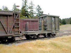 Chris Baker's Mad Dog Valley RR Rr Car, Chris Baker, Old Trains, Rolling Stock, Model Train Layouts, Ho Scale, Model Trains, Wild West, Bouldering