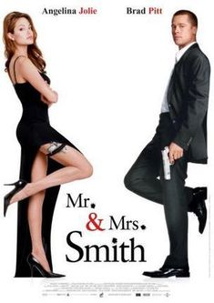 Mr And Mrs Smith Movie Poster Puzzle Fun-Size 120 pcs