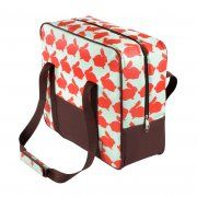 Anorak Kissing Rabbits Cool Bag from Tinder & Tide. A stylish coolbag with a retro box shape reminiscent of vintage lunch boxes. Cute Lunch Boxes, Vintage Lunch Boxes, Picnic Bag, Picnic Blanket, Picnic Time, Summer Picnic, Festival Essentials, Baby Boutique, Madame