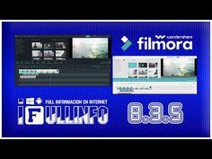 Wondershare Filmora 8.3.5   Un Editor De Vídeo Muy Fácil De Usar