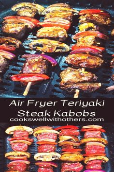 #The #best #air #fryer #2019 #cooks #well Air Fryer Teriyaki Steak Kabobs  Cooks Well With Othersbrp classfirstletterWe are glad to see you on our website for the subject of otherspThe valid impression We Offer You About wellbrA quality photo can tell you many things You can find the utmost splendidly impression that can be presented to you about teriyaki in this account When you look at our dashboard there are the biggest liked photographs with the highest countcountcount of 375 This…