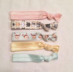 Oh deer elastic hair tie set//elastic hair ties//hair accessories//childrens hair ties by CoralCloud on Etsy https://www.etsy.com/listing/257664711/oh-deer-elastic-hair-tie-setelastic-hair