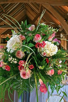 Wedding Flowers - Table Decoration - http://herbigday.net/wedding-flowers-table-decoration-9/