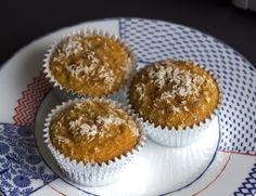 Banana Coconut Muffins (Gluten, Grain, Dairy, and Refined Sugar Free) (via marriahlavigne.com)