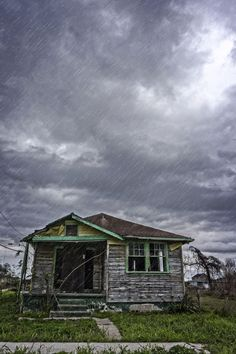 Rain Somewhere... In The Lower Ninth Ward of New Orleans. http://www.pinterest.com/kikanola/nola/