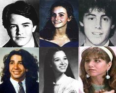 Friends cast when they were young
