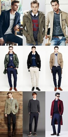 """Men's Sweatshirts Over Shirts And Fine Gauge Knitwear With Casual Attire - The only rule is """"Break the rule"""""""