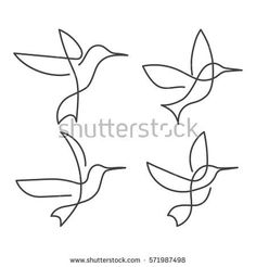Bird illustration line tattoos ideas Bird Line Drawing, Single Line Drawing, Continuous Line Drawing, Bird Drawings, Easy Drawings, Simple Bird Drawing, Simple Bird Tattoo, Little Bird Tattoos, Bird Tattoo Men