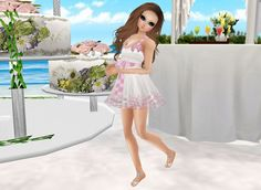 IMVU, the interactive, avatar-based social platform that empowers an emotional chat and self-expression experience with millions of users around the world. Virtual World, Virtual Reality, Social Platform, Imvu, Avatar, Join, White Dress, Dresses, Fashion