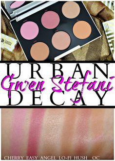 Urban Decay Gwen Stefani Blush Palette swatches