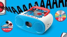 Φορητό Ράδιο CD Player για τους μικρούς μας φίλους.   Ακούστε τα αγαπημένα σας CD και ραδιοφωνικές εκπομπές όπου και να βρίσκεστε τώρα το καλοκαίρι. Σε δύο χρώματα, και για αγοράκια και για κοριτσάκια.  Αγόρασε το από τη MagicMarket εδώ ➡️ bit.ly/portablecd